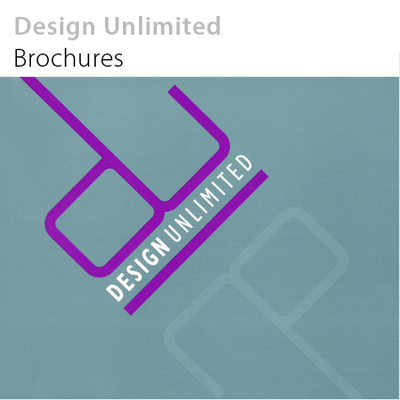 Design Unlimited brochures